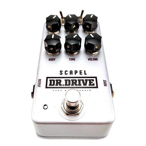 pedal distorsion scapel de dr.drive